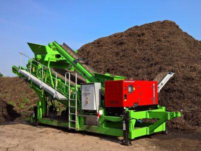 Flipflowsikt XF75-2 sikting kompost