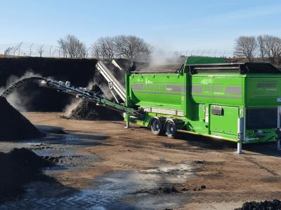 NH6020 Hybrid sikting kompost
